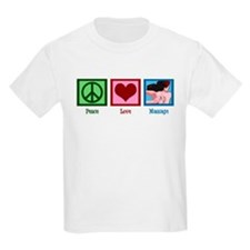 Peace Love Massage T-Shirt