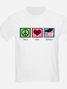 Peace Love Massage T-Shirt