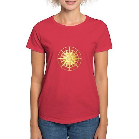 Compass Rose Women's Dark T-Shirt
