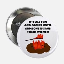 "Someone Burns Wiener 2.25"" Button (100 pack)"