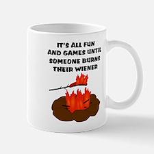 Someone Burns Wiener Mug