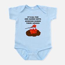 Someone Burns Wiener Infant Bodysuit