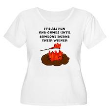Someone Burns Wiener T-Shirt