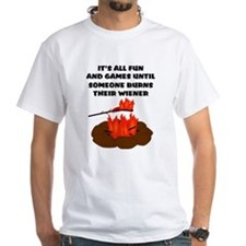 Someone Burns Wiener Shirt