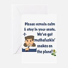 Stewardess S.O.A.P. Greeting Cards (Pk of 10)