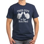 This Guy Ron Paul Men's Fitted T-Shirt (dark)
