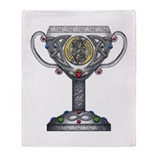 Celtic Chalice Throw Blanket