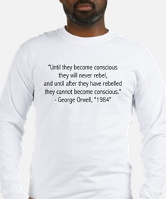Long sleeve T-shirt with quote