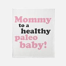 Paleo Mommy Throw Blanket