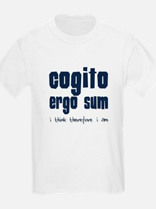 Cogito Ergo Sum Kids T-Shirt