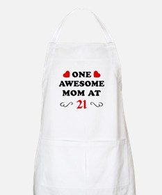 21st Birthday Awesome Mom Apron