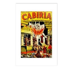 Cabiria Postcards (Package of 8)