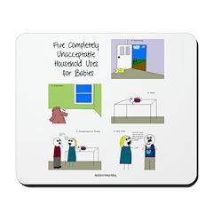 five completely unacceptable Mousepad