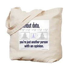 Without Data... Tote Bag