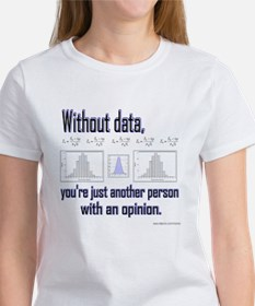 Without Data... Tee