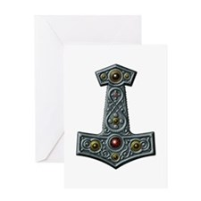 Thor's Hammer X-S Greeting Card