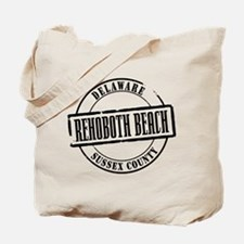 Rehoboth Beach Title Tote Bag