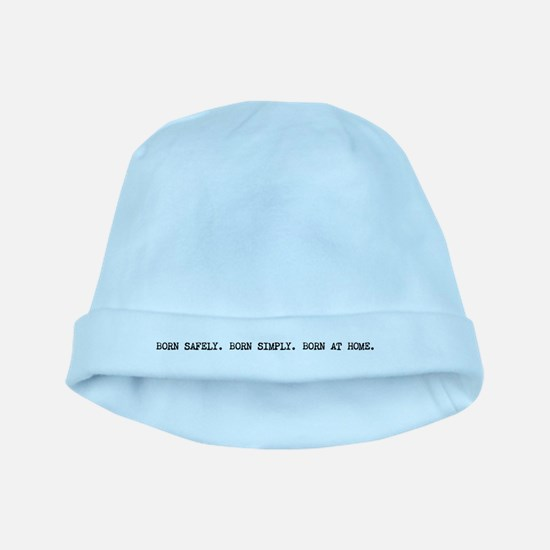 Homebirth advocacy baby hat