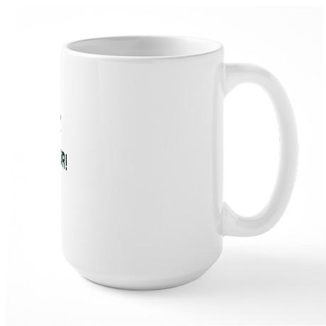Dadism - Don't Slam The Door! Large Mug