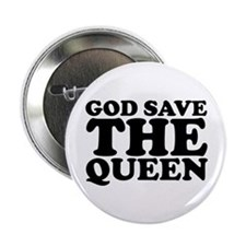 "God Save the Queen (text: bla 2.25"" Button"