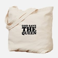 God Save the Queen (text: bla Tote Bag