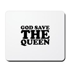 God Save the Queen (text: bla Mousepad