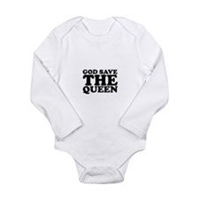 God Save the Queen (text: bla Long Sleeve Infant B