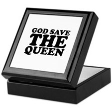 God Save the Queen (text: bla Keepsake Box