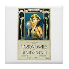 Beauty's Worth Tile Coaster