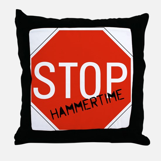 Hammer Time Throw Pillow