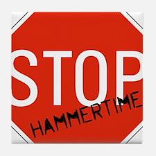 Hammer Time Tile Coaster