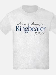 Laura & Kenny's Ringbearer T-Shirt