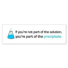 Precipitate Bumper Stickers