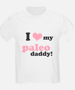 I Love My Paleo Daddy T-Shirt