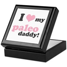 I Love My Paleo Daddy Keepsake Box