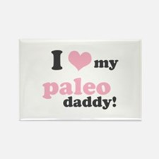 I Love My Paleo Daddy Rectangle Magnet