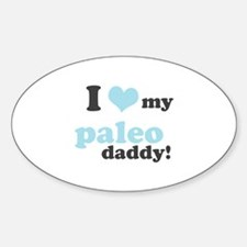 I Love My Paleo Daddy Decal