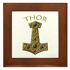 Thor's Hammer X-Gold - THOR Framed Tile