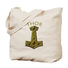 Thor's Hammer X-Gold - THOR Tote Bag