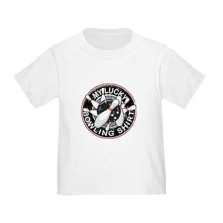 Lucky Bowling Shirt 2 Toddler T-Shirt