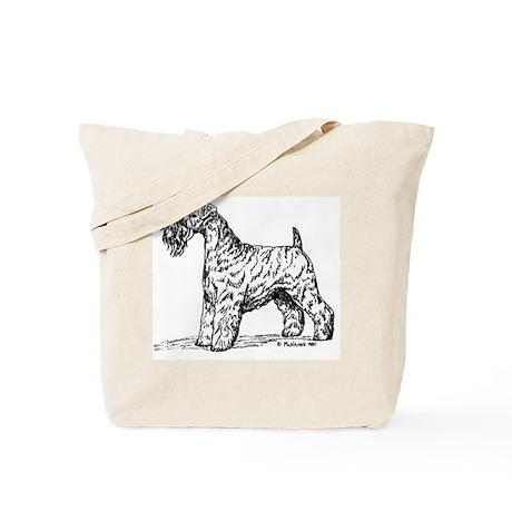 Kerry Blue Terrier Tote Bag