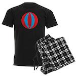Beach Ball Men's Dark Pajamas