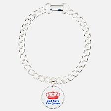 God Save the Queen (red/blue) Bracelet