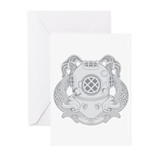First Class Diver Greeting Cards (Pk of 10)