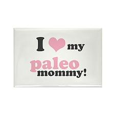 I Love my Paleo Mommy Rectangle Magnet (10 pack)