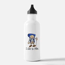 I Like To Hike (Blue) Water Bottle