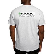 S.O.A.P. Pilot Ash Grey T-Shirt