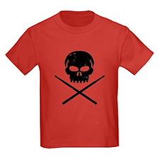 Skull and Drum Sticks T