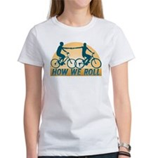 How We Roll Cycling Tee