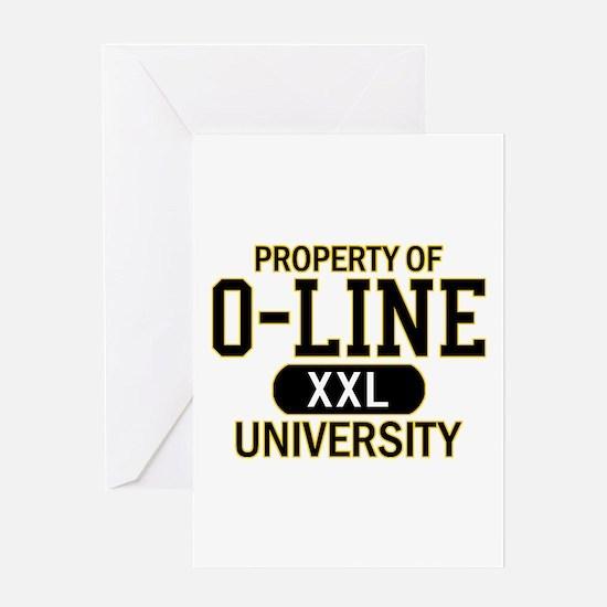 O-LINE U Greeting Card